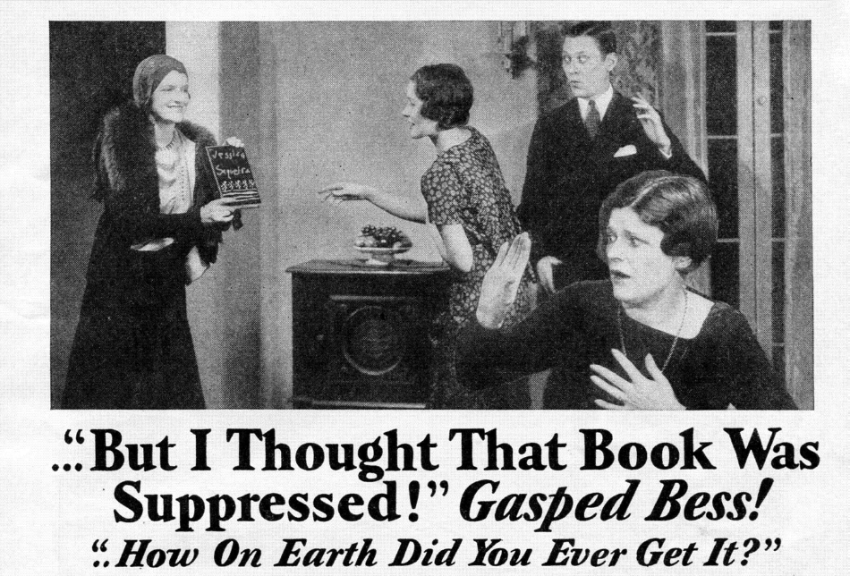 'But I Thought That Book Was Suppressed!' Gasped Bess. 'How on Earth Did You Ever Get It?'