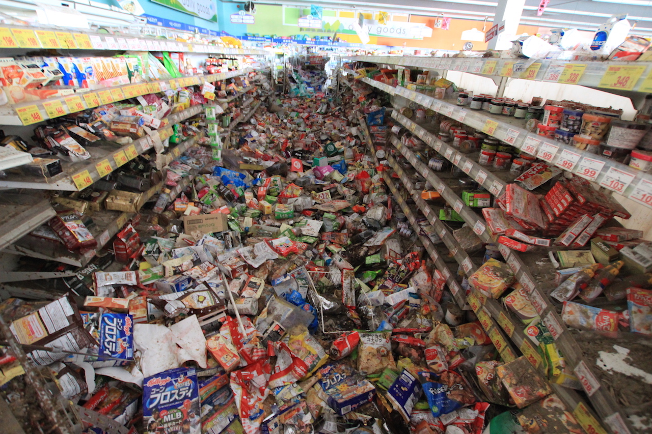 an interview hiromichi ugaya tsunami flooded grocery store fukushima