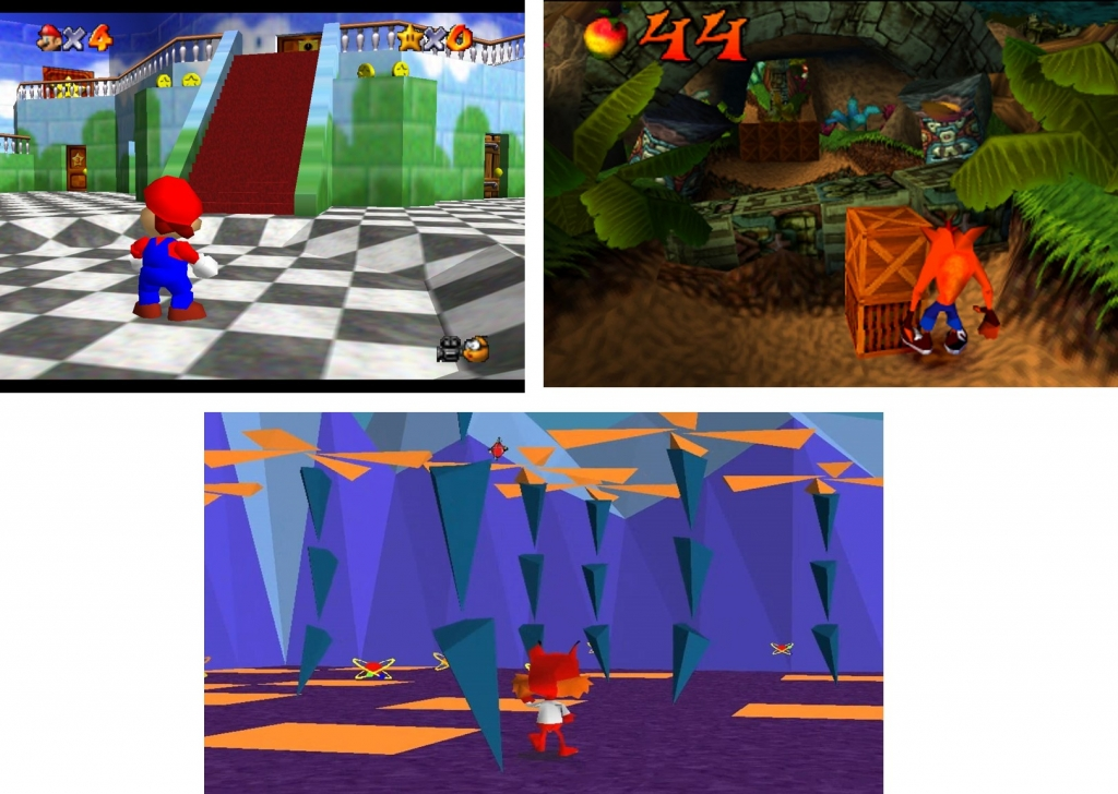 bubsy crash nintendo