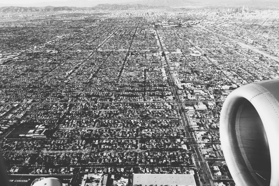 L.A. from the air.