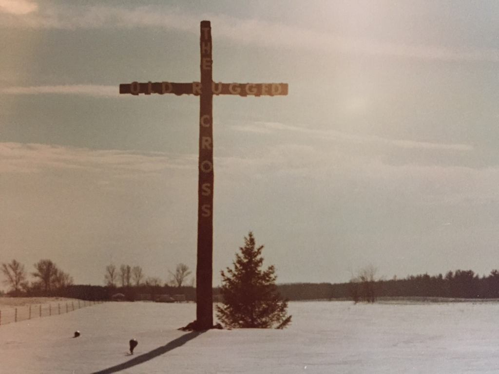 6. Cross in the Snow