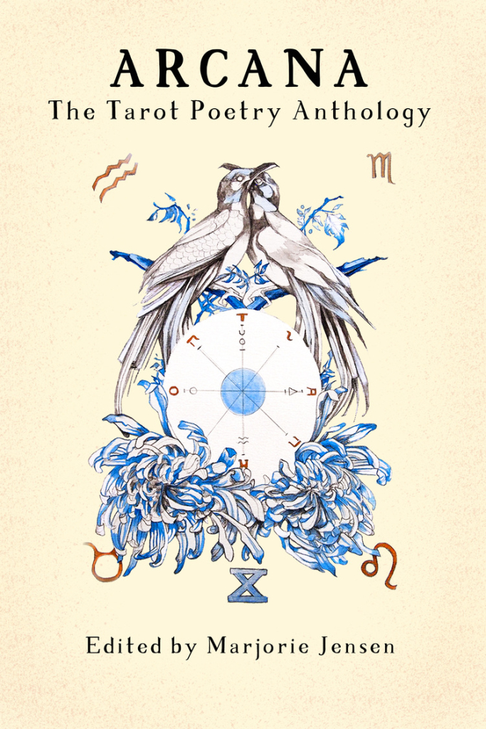 Poetry Book Cover Queen : Review arcana the tarot poetry anthology