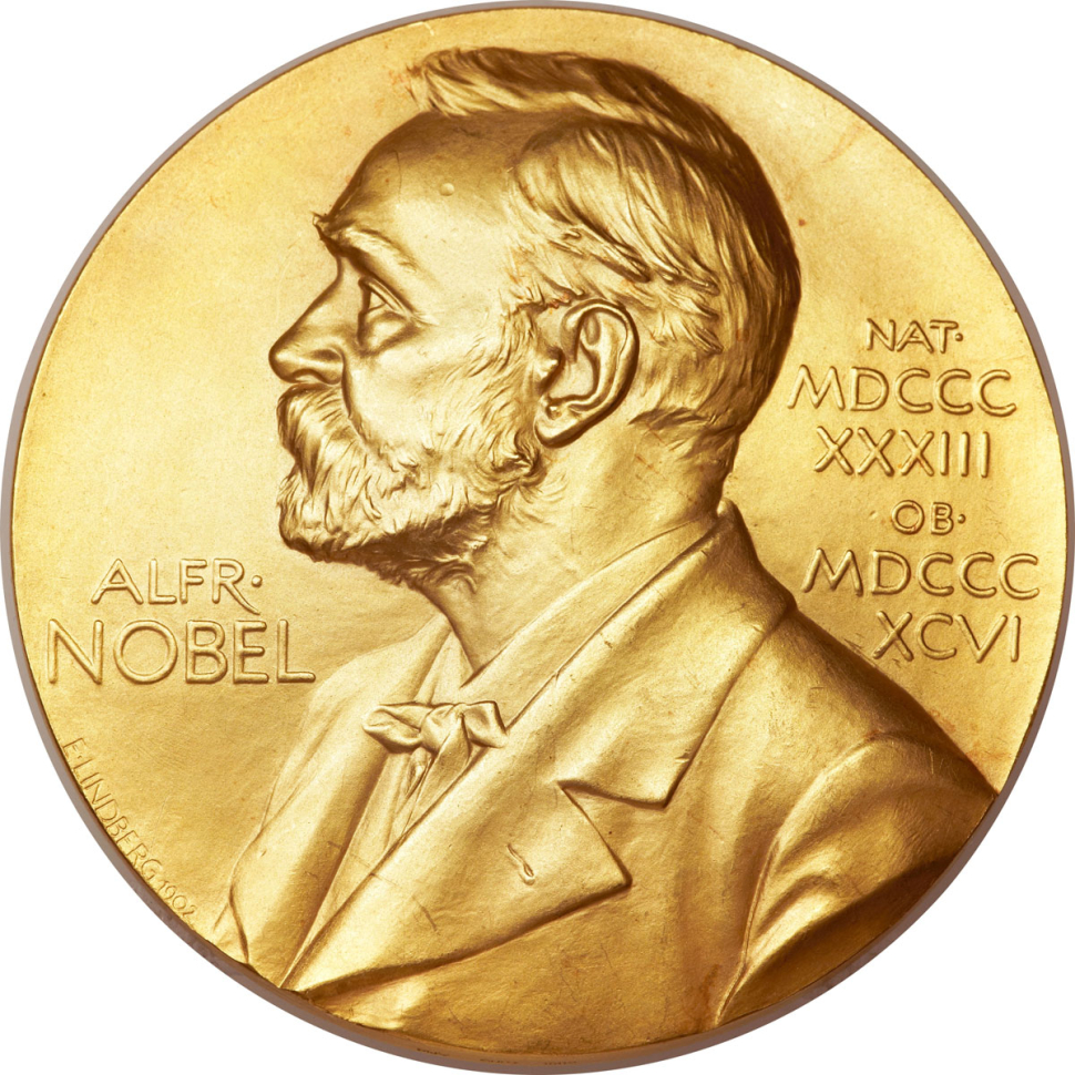 Illo for Nobel Prize in Literature piece.